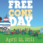 Free Ben & Jerry's Ice Cream Cone (April 12th Only)
