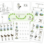 Free Knight Preschool Printables Pack