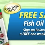 Free Sample – 1 Week Supply – of Nature's Bounty Fish Oil