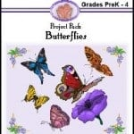 Free Download of Butterfly Lapbook from Hands of a Child