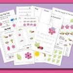 Free Pretty Bugs Preschool Pack – Cute!