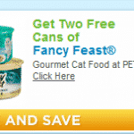 2 Free Cans of Fancy Feast at Petco