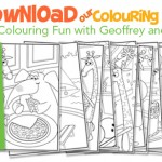 "Free Geoffrey Colouring Book from Toys""R""Us"