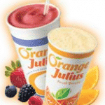 3 Free Drinks at Orange Julius in Dairy Queen