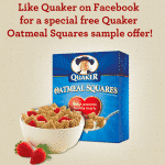 Free Samples of Quaker Oatmeal Squares