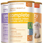 Free Sample of Simply Right Infant Formula