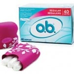 Free Samples of o.b. Tampons & Free Carrying Case