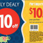 Free Item from Pier 1 Imports with $10 OFF Coupon