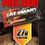Free Eat-Smart Protein Bar at GNC or The Vitamin Shoppe