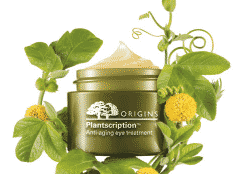 Free Sample of Origins Plantscription Anti-Aging Eye Treatment