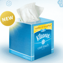 Free Samples of Kleenex Cool Touch Tissue
