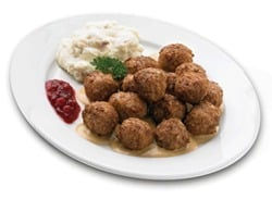 Ikea meatballs to promote offer to eat for free over Labor Day weekend