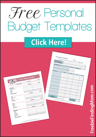 Free Personal Budget Templates - Free printable templates for budgeting household expenses and event planning.