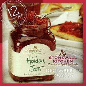 Freebie Free Stonewall Kitchen Holiday Jam At Banana Republic Stores Today Only 12 10