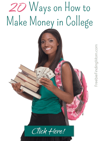 20 Ways on How to Make Money in College - These are great, flexible jobs that are ideal for college students.