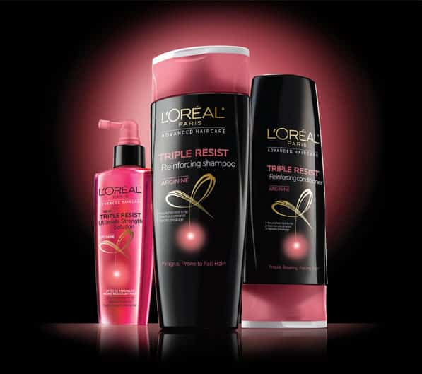 l'oreal triple resist free sample