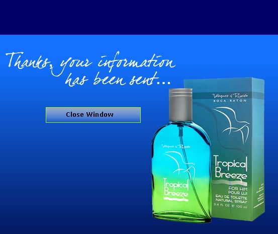 Free Sample Tropical Breeze Fragrance
