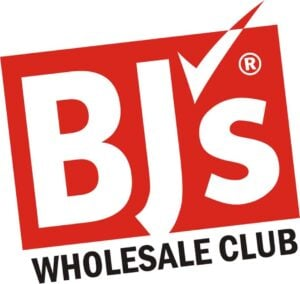 BJ's Wholesale Club logot to promote free 60 day trial membership