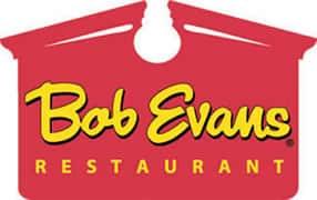 bob evans logo kids eat free food