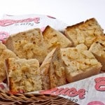 buca di beppo garlic bread free food