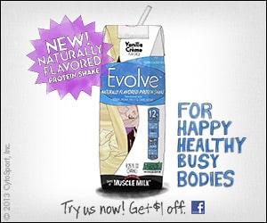 evolve protein shakes free coupon