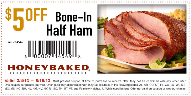 Hatfield ham coupons 2018