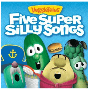 Amazon FREE MP3 Album of VeggieTales Five Super Silly Songs