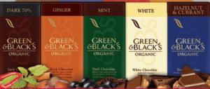 FREE Green & Black's Chocolate Bar giveaway