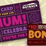 Lots Of Deals If Going To Give A Gift Card For Mother's Day (Macaroni Grill, Outback Steakhouse, Pei Wei)