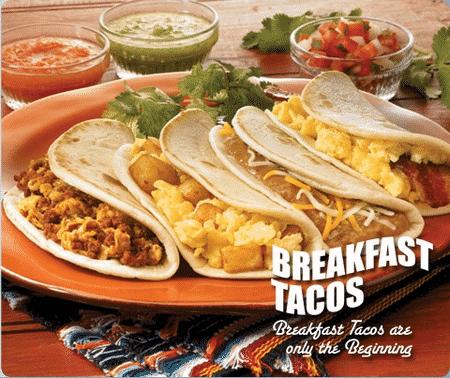 Taco Cabana Free Breakfast Taco On May 6 With Coupon
