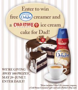 International Delight giveaway banner