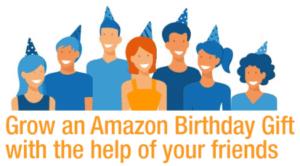 Amazon Birthday Gift banner