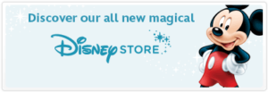 Disney Store banner to promote free summer play days