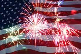 "picture of fireworks to promote article titled, ""Three of the Best 4th of July Travel Deals and Tips"""