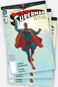 Superman comic book to promote Books-A-Million freebie