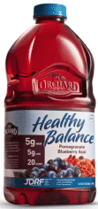 Old Orchard Healthy Balance Reduced-Sugar Juice to promote today's freebie of the day