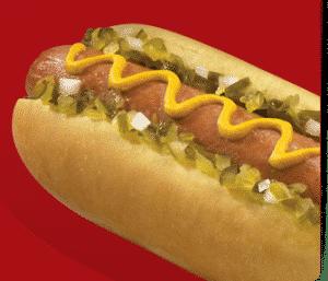 7-Eleven Big Bite Hot Dog to promote freebie
