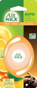 Air Wick Car Air Freshener to promote freebie