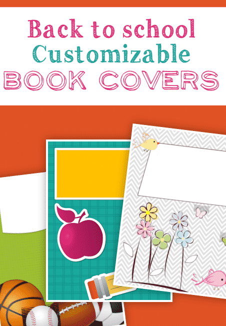 Freebie: FREE Printable Book Covers