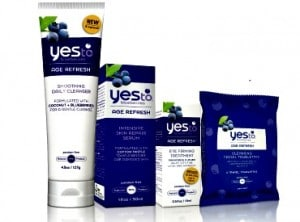 Yes to Blueberries Products to promote giveaway