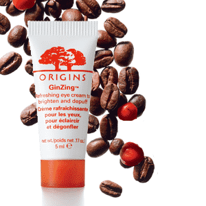 Origins GinZing Eye Cream to promote freebie