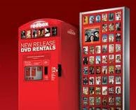 Redbox kiosk to promote today's freebie of the day
