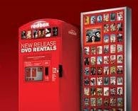 Redbox kiosk to promote Redbox promo codes