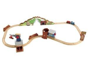 Thomas Wooden Railway Set to promote Fisher Price toy deal on Amazon.com