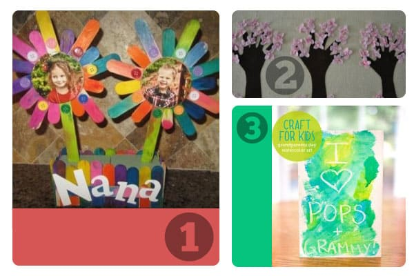 1-3 Grandparents Day crafts