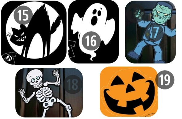 Free Printables For Halloween Decorations  www - Printable Halloween Decorations
