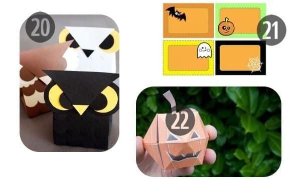 20-22 printable Halloween decorations