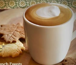 Peet's Coffee & Tea latte to promote National Coffee Day offer