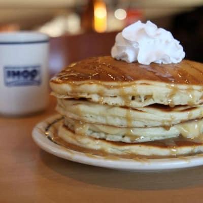 FREE Pancakes on National Pancake Day September 26