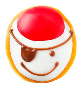 Krispy Kreme Pirate Doughnut to promote the week's best freebies, coupons and bargains